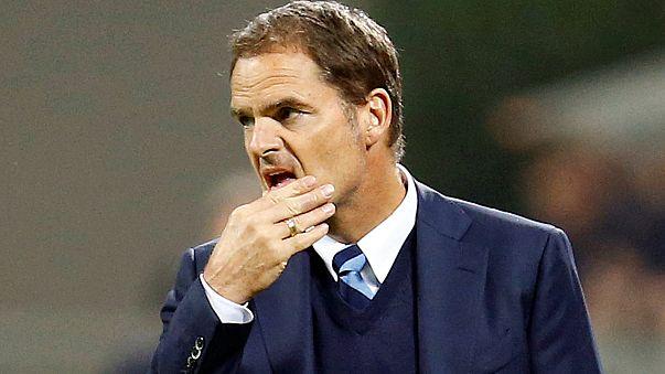 Frank de Boer'un İtalya macerası 11 hafta sürdü