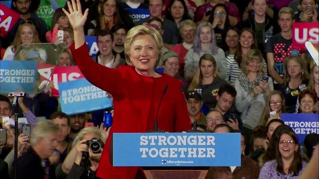 Affaire des emails : Clinton dépassée par Trump dans les sondages
