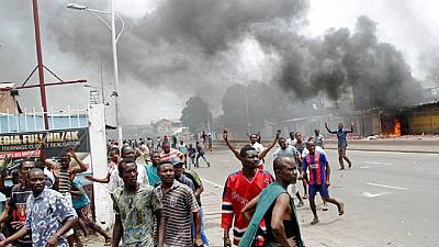 DRC: 6 Bodies of activists killed in protest displayed in Kinshasa
