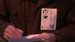 Activist's allegations of torture by Russian prison guards spark Moscow protest