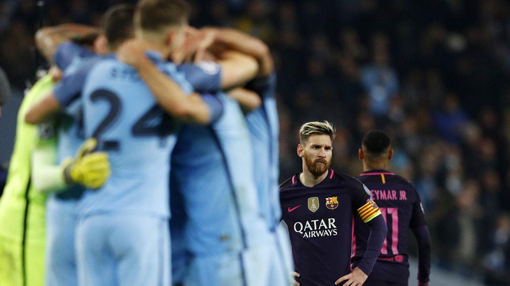 Ligue des champions: quatre nouveaux qualifiés pour les huitièmes de finale