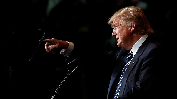 Opinion poll gives Trump a one point lead