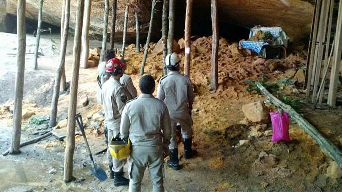 Brésil : au moins 10 morts dans l'effondrement d'une grotte