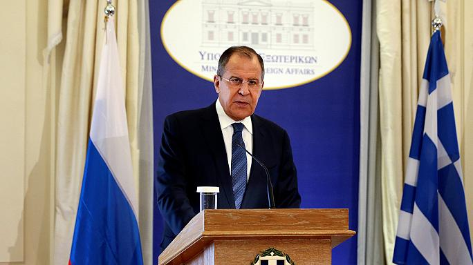 Rusya Dışişleri Bakanı Lavrov Atina'da