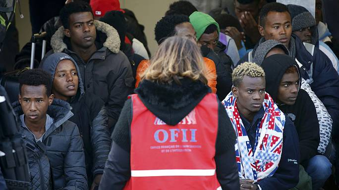 French authorities remove minors from shipping containers in Calais
