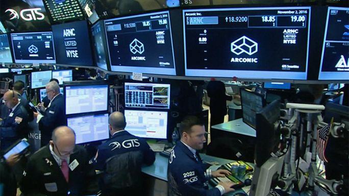 Выборы в США: фондовые рынки отреагировали падением на новость о Трампе