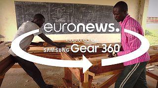 360° video: inside vocational training classes in Uganda