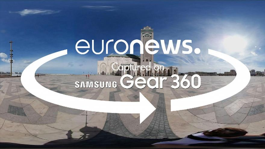 [360° video] Discover Casablanca and Rabat's most prominent monuments