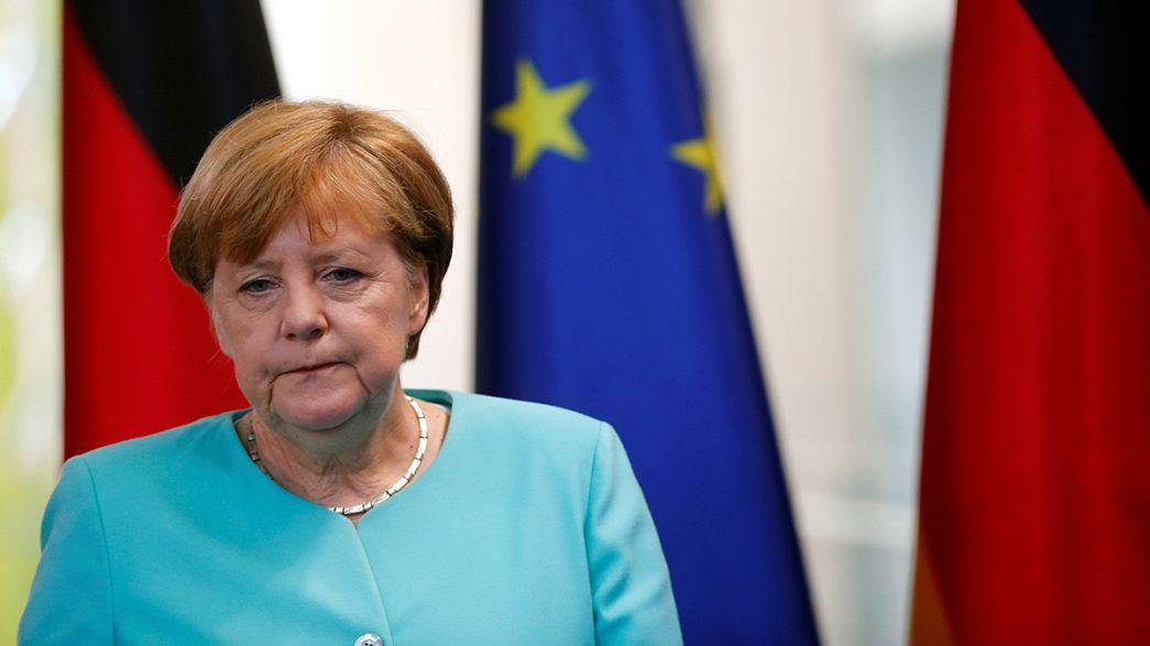 المستشارة الألمانية : من المهم الإبقاء على العلاقات مع بريطانيا جيدة وودية