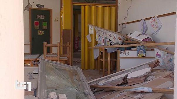 İtalya'da afet bölgesinde hasar tespit çalışmaları iki hafta daha sürecek