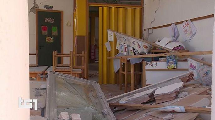 Itália: Sismo deixou crianças sem escola, em risco de perder o ano escolar