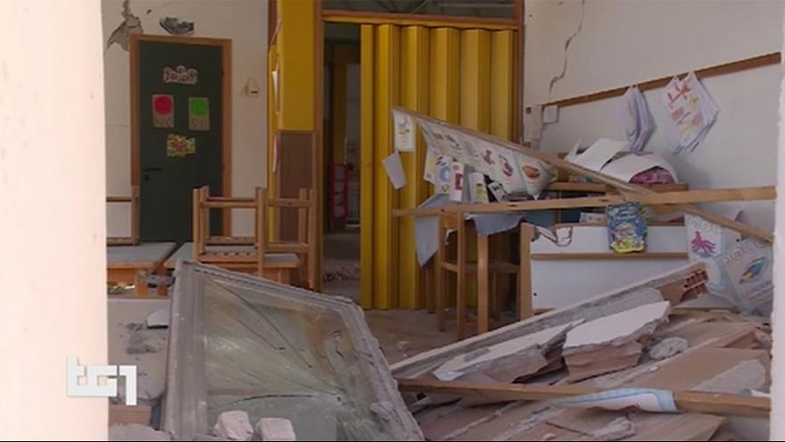 Italy quake forces closure of dozens of schools