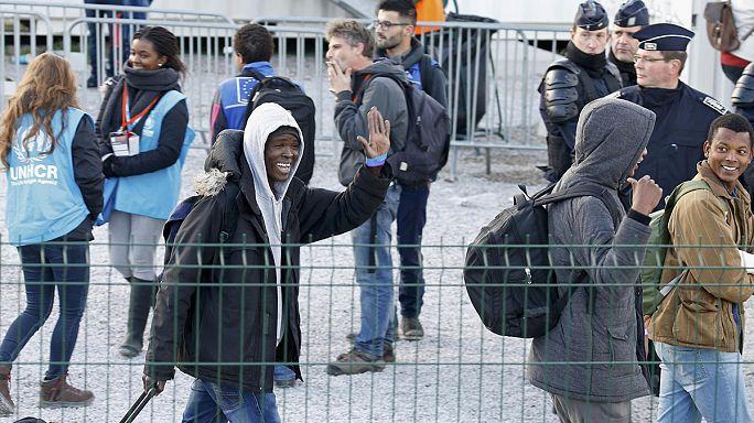 Calais kampı tümüyle boşalıyor
