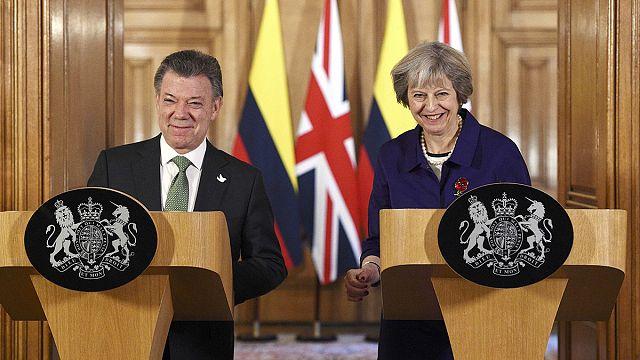 El presidente colombiano promueve la inversión en su país en su visita de Estado al Reino Unido