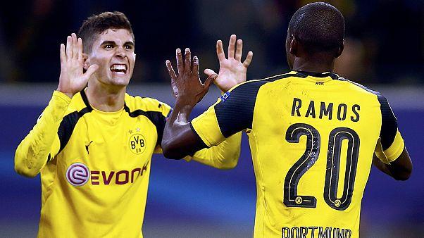 لیگ قهرمانان اروپا؛ دورتموند پنجمین باشگاه راه یافته به مرحله یک هشتم