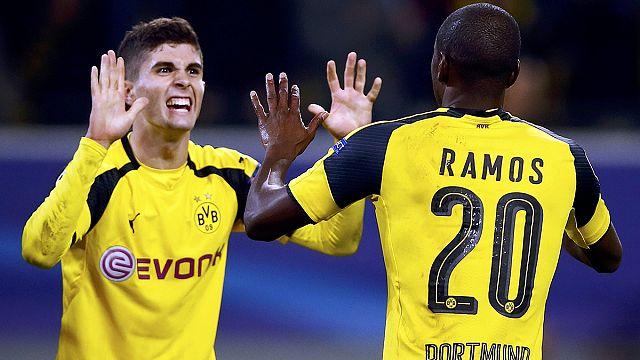El Borussia Dortmund sella su paso a octavos de final de la Champions