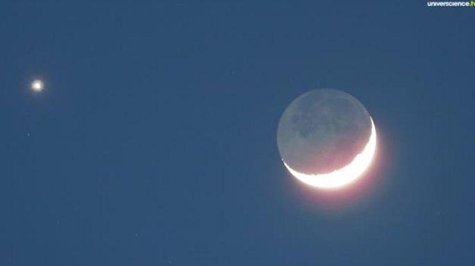 La Lune et Vénus