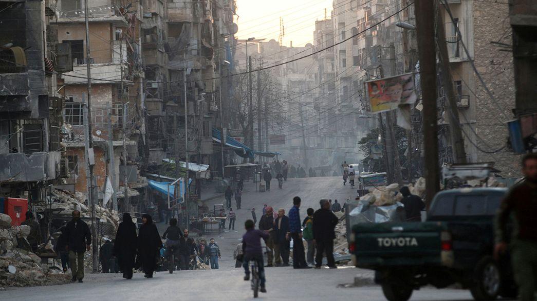 Rus jetleri Halep'i bombalamaya ara verdi