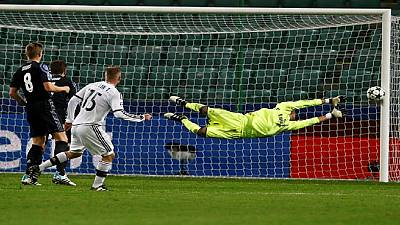 UCL roundup: Legia Warsaw draws Real Madrid, Leicester tops group G