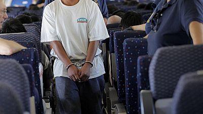 108 US deportees to Ghana protest 'inhumane' treatment