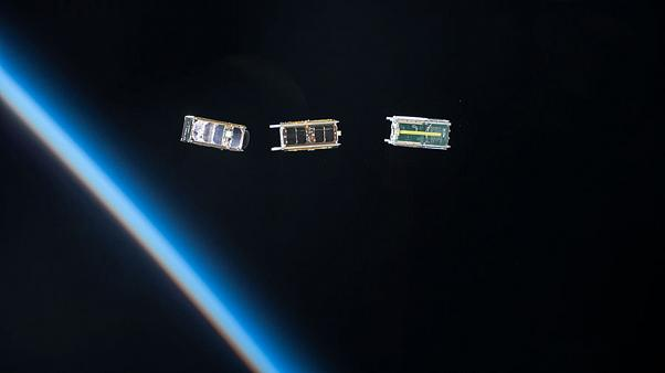 Image: Cubesats are currently the standard small satellite, but some spacec
