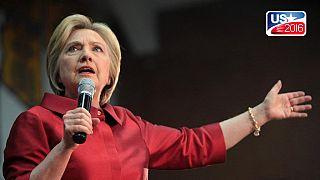 """Les idées de Trump sont """"incroyablement dangereuses"""" (Hillary Clinton)"""