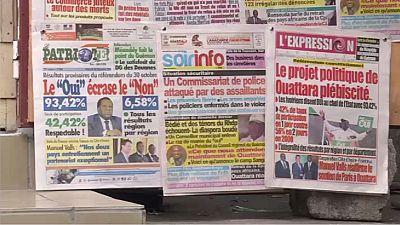 Référendum sur la Constitution : réactions à Abidjan