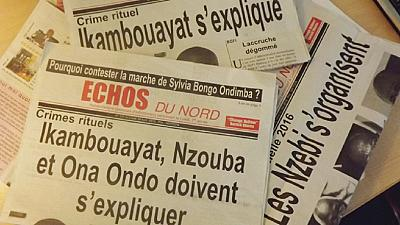 Gabonese police storm opposition newspaper office, journalists arrested