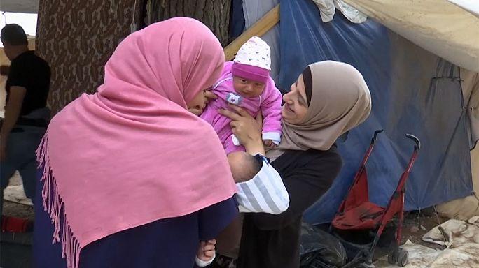 Greece: migrant babies in limbo