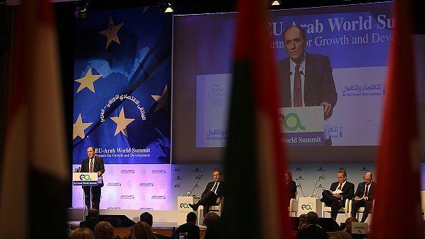Αθήνα: Σε εξέλιξη η Ευρω-αραβική Σύνοδος
