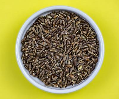 Wild rice is often mixed with brown or white rice.