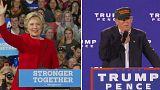 Le faible écart entre Trump et Clinton rend les marchés nerveux