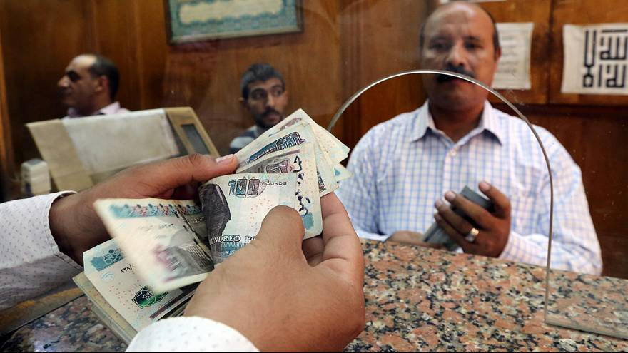 Egypt devalues its currency to stabilise the economy