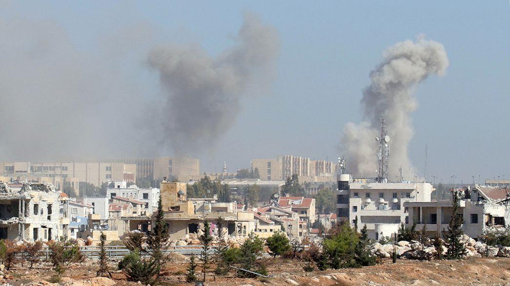 """Síria: Intensificam-se combates em Alepo a poucas horas da """"pausa humanitária"""""""