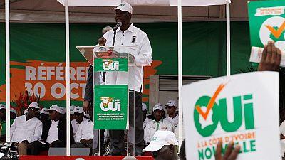 Ivory Coast gets UN praise after successful referendum vote