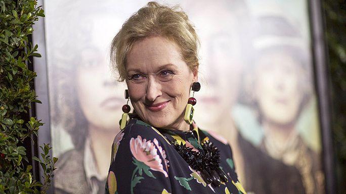 Meryl Streep vince GOlden GLobe alla carriera