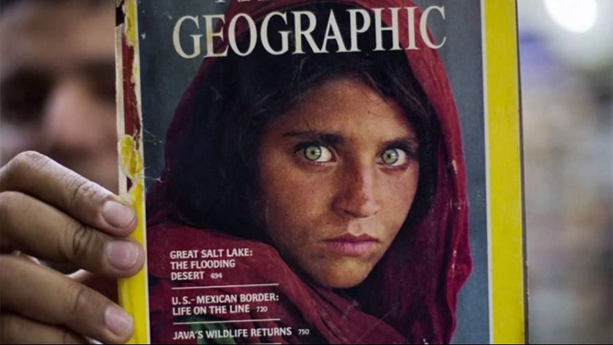 Famed 'Afghan Girl' hospitalised in Pakistan