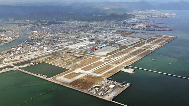 Image: The U.S. Marine Corps Air Station Iwakuni in Japan.