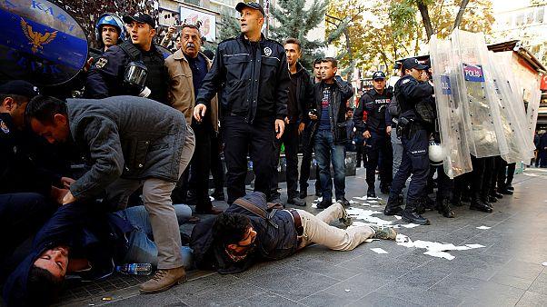 تركيا: انتقادات دولية للتوقيفات التي طالت أعضاء حزب الشعوب الديمقراطي