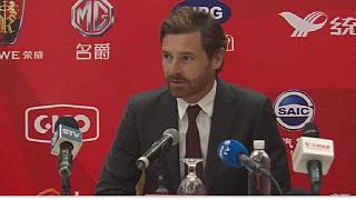 Football : André Villas-Boas signe au Shangai SIPG