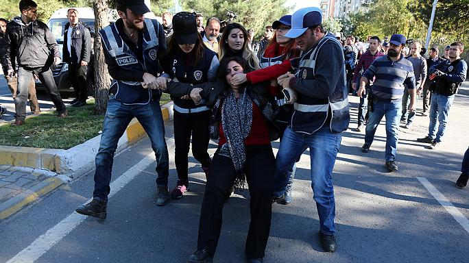 Turkey rocked by protests after high-profile arrests
