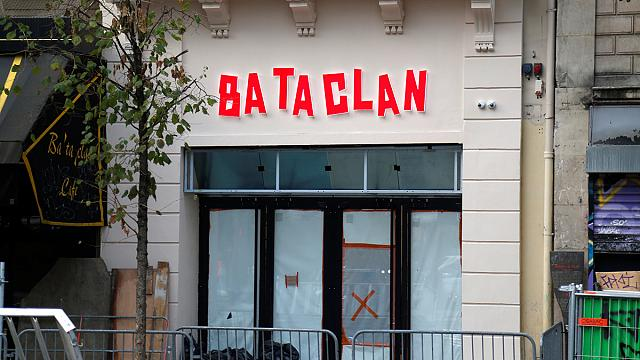 Sting concert for reopening of the Bataclan, site of Paris terror attacks