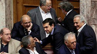 Großer Umbau in Griechenlands Regierung
