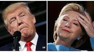 US election: Clinton and Trump fight for key battleground states