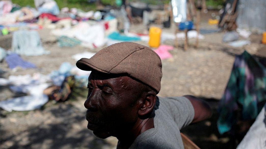 """Prossegue a calamidade no Haiti um mês após o furacão """"Matthew"""""""