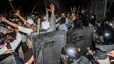 Indonesian police fire tear gas at Muslim protesters