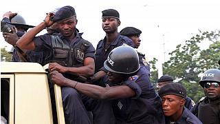 DRC police storm Kinshasa to prevent opposition protest, RFI signal cut