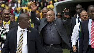 I'm not afraid of jail - South African President Zuma tells supporters