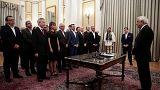 Amtseid in Athen: Regierungsumbildung soll Geldgeber beruhigen