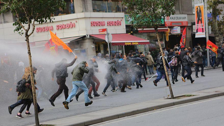 Manifestaciones en Turquía y varios países europeos contra las detenciones de miembros del partido prokurdo HDP